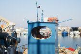 Ayrıntılar tekne marina, yunanistan — Stok fotoğraf