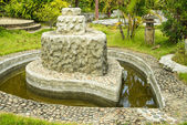 Park with hot springs, north of Thailand — Stock Photo