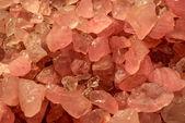 Pink quartz minerals — Стоковое фото
