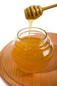 Honey in the stick — Stock Photo
