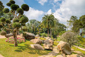 Mae Fah Luang Garden, located on Doi Tung,Thailand — Stock Photo