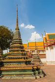 Do Stupa no templo de wat phra kaew, bangkok, Tailândia. — Fotografia Stock