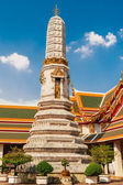 Stupa  at   Wat  Phra Kaew temple, Bangkok, Thailand. — Stock Photo