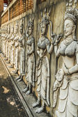 The bas of Apsaras, Chiang Rai province, northern  Thailand. — Stock Photo