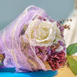 Wedding theme with accessories. Soft focus — Stock Photo #43799503