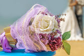 Wedding theme  with  accessories. Soft focus — Stock Photo