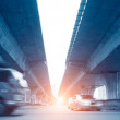 Stock Photo: Elevated express way