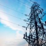 High voltage power pole. — Stock Photo #18995795