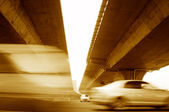 Elevated express way — Stock Photo