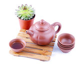Chinese clay teapot — Stock Photo