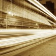 The light trails - Foto Stock