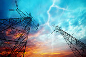 Electricity Towers — Stockfoto
