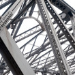 Support above the bridge, steel structure close-up — Stock Photo #22350461