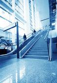 上海浦东新区机场的乘客 — 图库照片