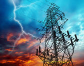Electricity Towers — Stock Photo
