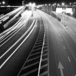 Highway light trails — Stock Photo #26450141