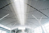 Interior of the airport — Stock Photo