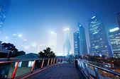 City scene of shanghai — Stock Photo