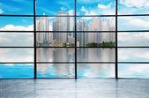 Modern city skyline ,shanghai pudong, China. — Stock Photo
