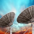 Satellite dish antennas — Stock Photo #27481739