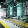 Large industrial boiler room — Stock Photo #27487301