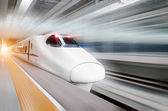 Very high-speed train — 图库照片