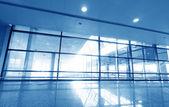Image of windows in morden office building — Stockfoto
