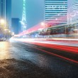 The light trails in shanghai — Stock Photo #29483111