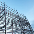 Structural steel framework — Stock Photo