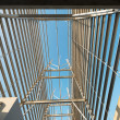 Stock Photo: Structural steel framework