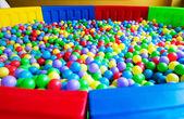 Colorful plastic balls — Stock Photo