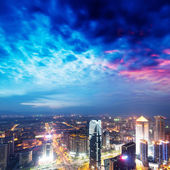 Bird view at Nanchang China. — Stock Photo