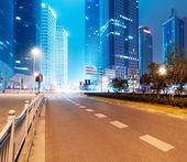 Shanghai Lujiazui Finance & Trade Zone modern city — Stok fotoğraf