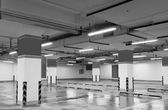 Underground parking lot — Stock Photo