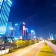 Light trails on the street at dusk in guangdong,China — Stock Photo #32781693
