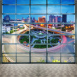 Стоковое фото: City Scape of nanchang china