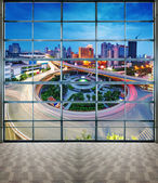 City Scape of the nanchang china — Stock Photo