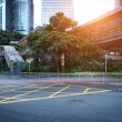 Hong Kong stree view — Stock Photo