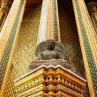 Stone statue of a Buddha in Thailand. — Stock Photo