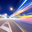 Moving car with blur light  — Stock fotografie