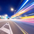 Moving car with blur light  — Stockfoto