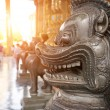 Thai Oriental Lion — Stock Photo