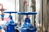 Pompa do bieżącej wody w budynku — Zdjęcie stockowe