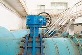 Modern urban wastewater treatment plant. — Stock Photo