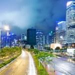 Hong Kong city at night — Stock Photo #37472253