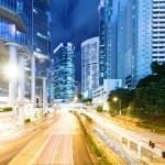 Hong Kong city at night — Stock Photo #37473031