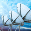 Stock Photo: Satellite dish antennas