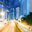 Stock Photo: Hong Kong city at night