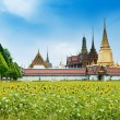 A golden pagoda, Grand Palace, Bangkok, Thailand — Stock Photo