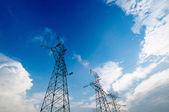 Antenas de prato satellite — Fotografia Stock